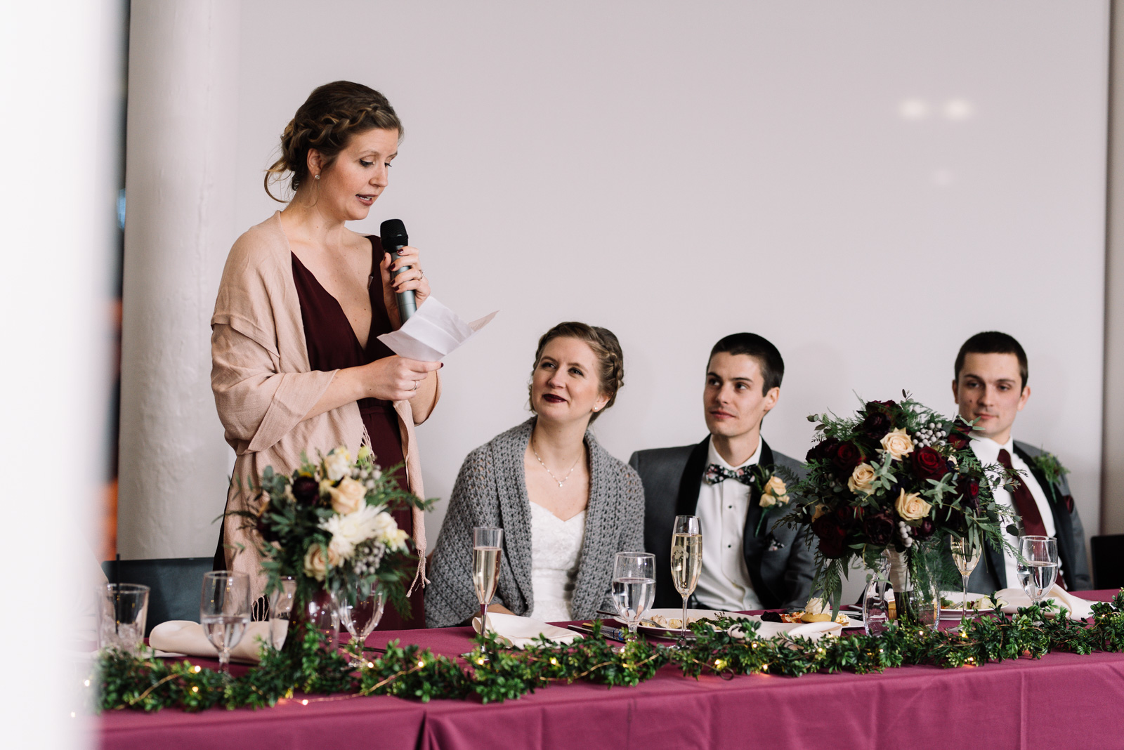 maid of honor speech eastbank wedding venue