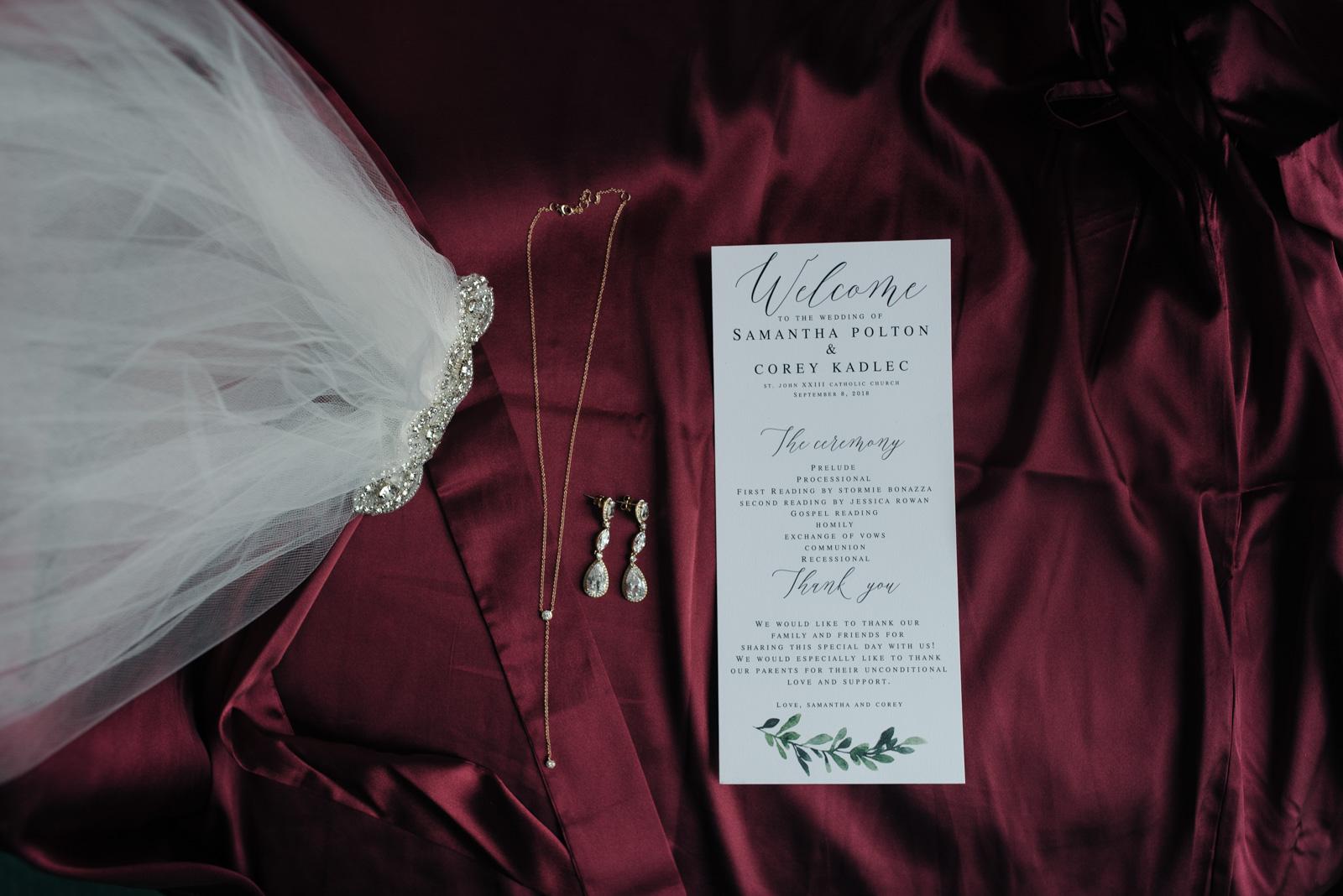 wedding invitations cedar rapids September wedding