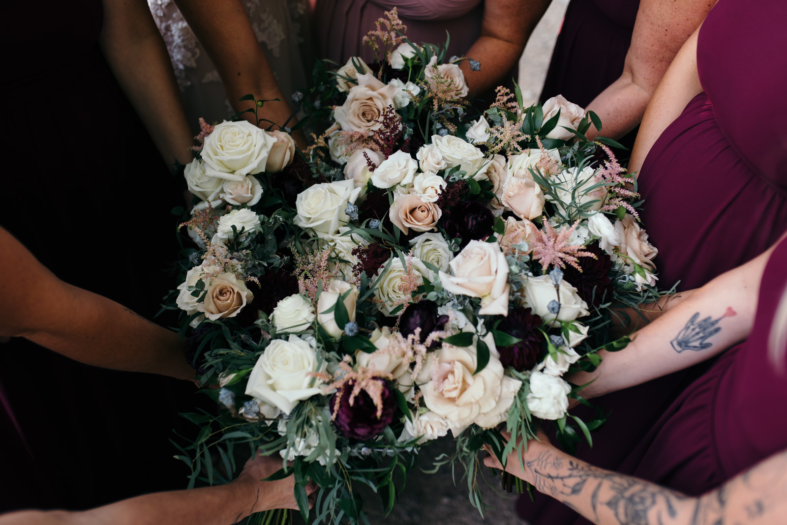 September wedding bridal bouquets