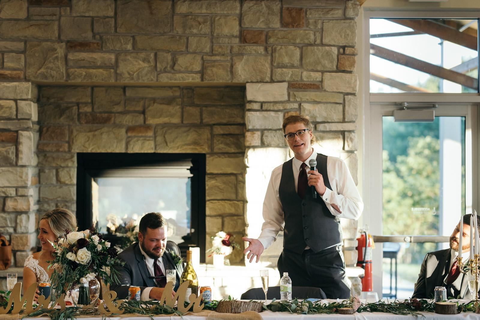 best man speech Ushers Ferry Historic Village wedding