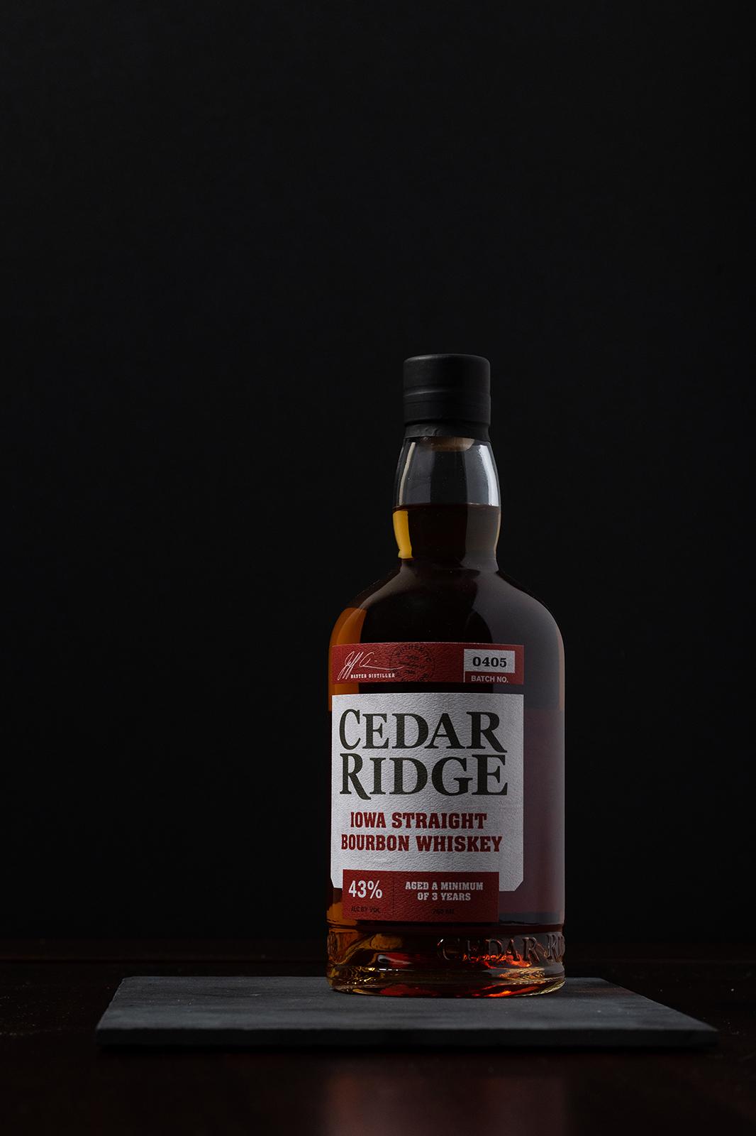 cedar ridge winery bourbon commerical photography cedar rapids iowa