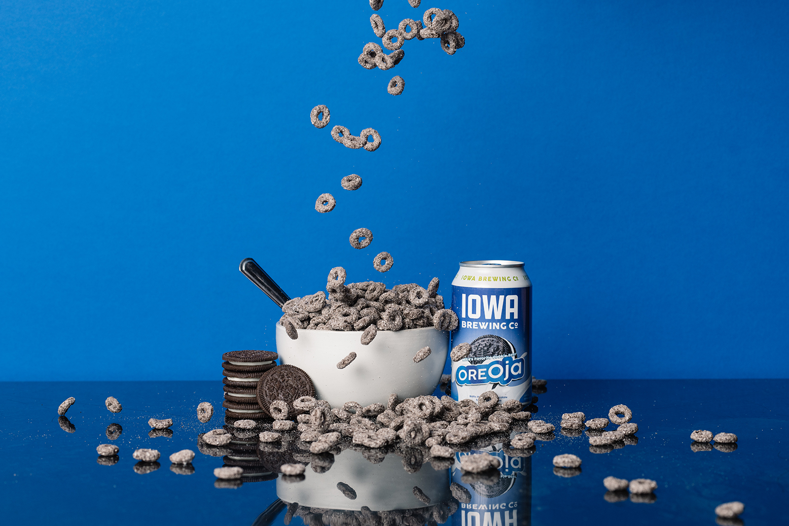 Iowa Brewing Company Oreja Craft Beer Commercial Photography Cedar Rapids Iowa