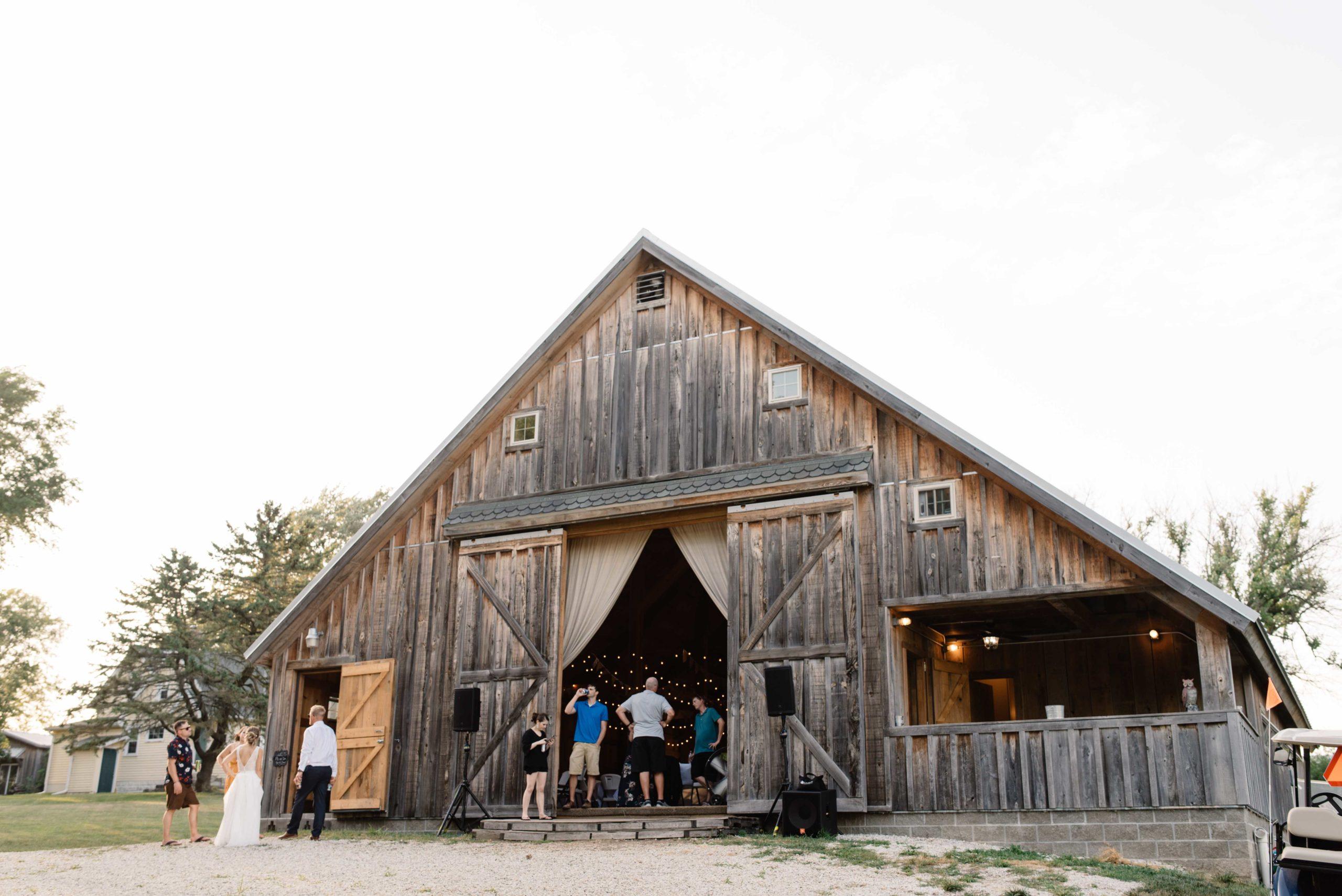 schafer century barn wedding venue