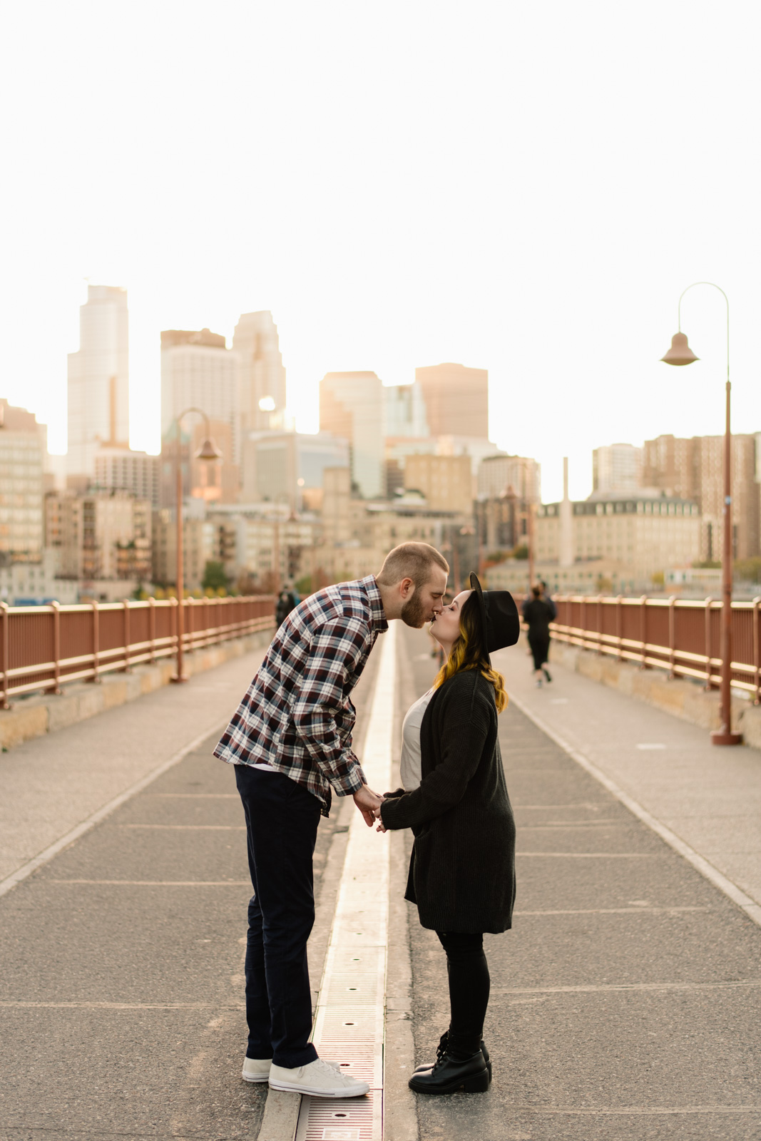 Minneapolis Engagement | Stone Arch Bridge | Jessy and Eric